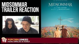 MIDSOMMAR | Official Teaser Trailer - Nadia Sawalha & The Popcorn Junkies Family Reaction