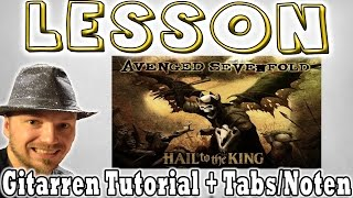 "★Avenged Sevenfold HAIL TO THE KING ""Rhythmus"" 