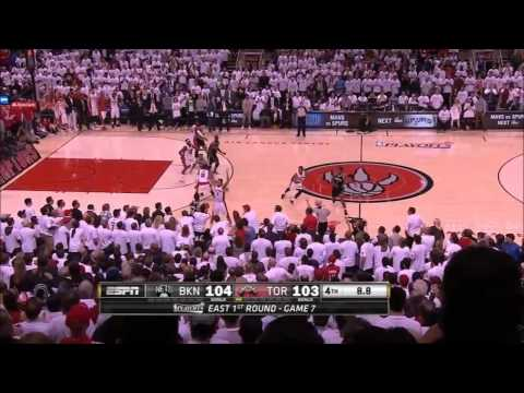 Brooklyn Nets vs Toronto Raptors Game 7 Highlights   NBA Playoffs 2014