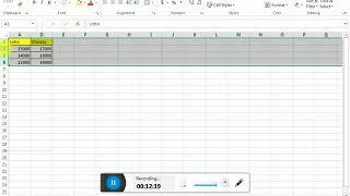 Excel Short Cut IN TAMIL