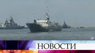 С размахом День ВМФ отмечают в Балтийске, где находится главная база Балтийского флота.