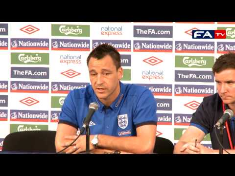 World Cup 2010 - John Terry - England Press Conference 20/06/10