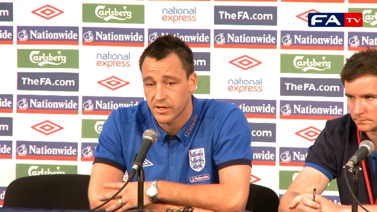 John Terry's 6 minute rant on England