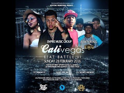 Empire Music Group - Cali V Vegas LIVE in Las Vegas