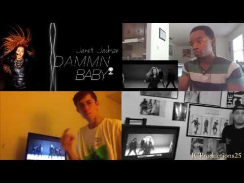 Janet Jackson - Dammn Baby Reaction Mashup
