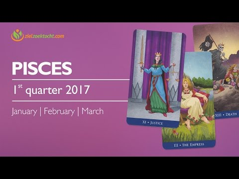 Pisces 1st Quarter Forecast 2017 | January February March | Expect Power Magical Manifestation