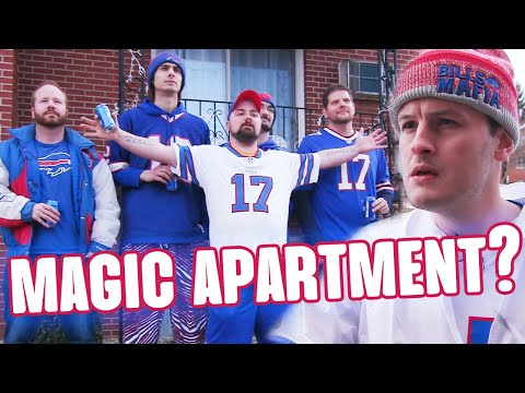 The Magical Apartment That's Behind The Bills' Historic Season