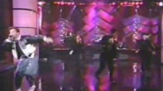 "NKOTB Dec 1990 Arsenio Hall.  Perform ""Funky Funky Christmas"""