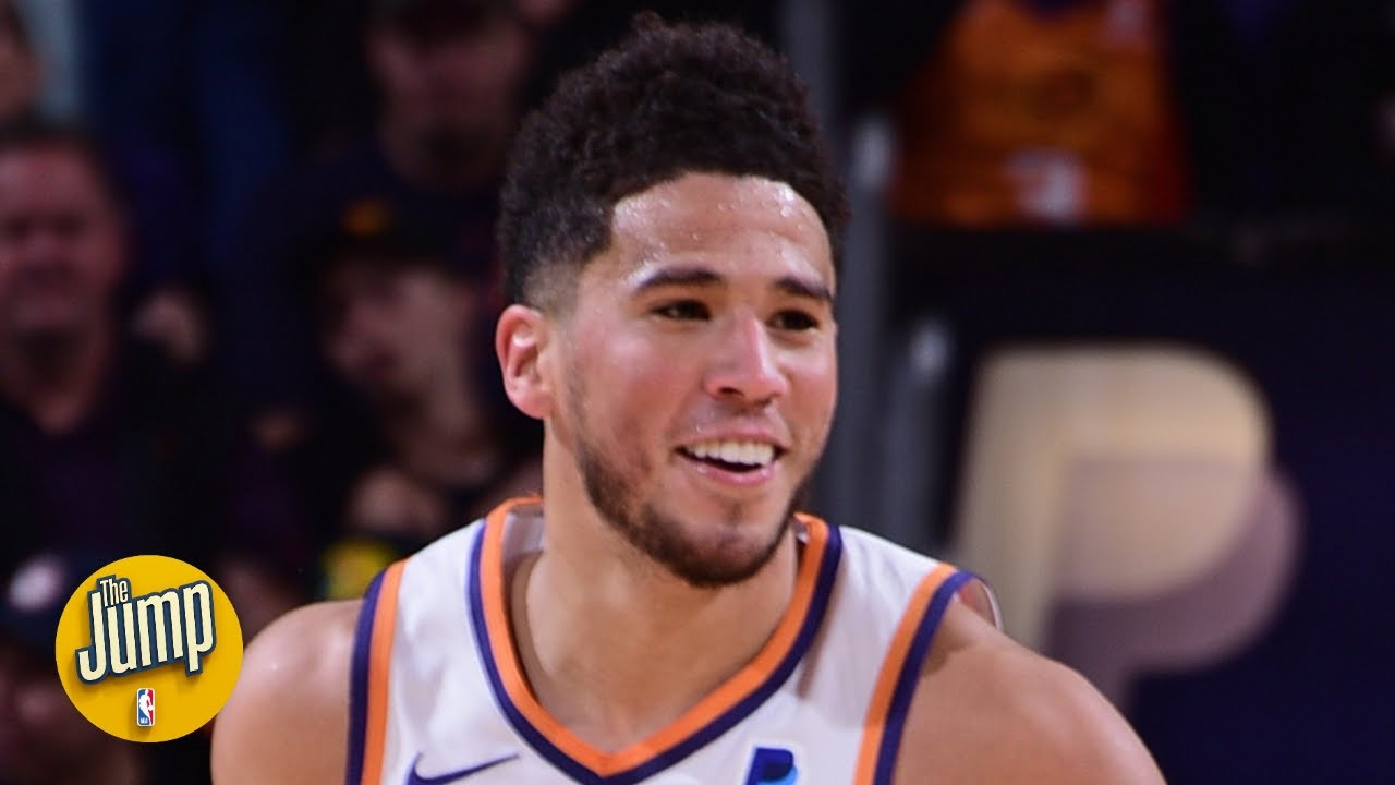 Devin Booker dropped 40 on 76ers and it might've been his best game ever - Rachel Nichols | The Jump