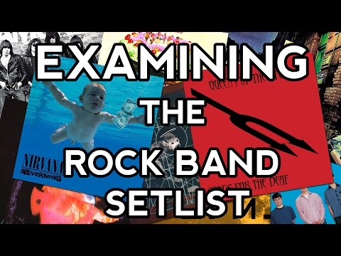 Examining the Rock Band Setlist
