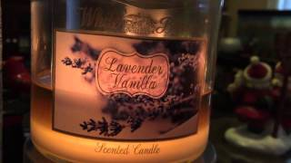 Bbw Candle Reviews: Lavender Vanilla + Vanilla Snowflake