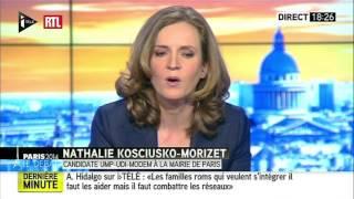 Le débat entre Anne Hidalgo et Nathalie Kosciusko-Morizet du 26 mars 2014 (deuxième partie) - RTL