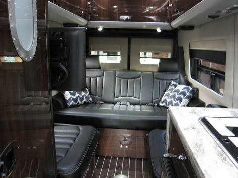 Awesome VB Air Suspension Upgrade 2016 Airstream Interstate 3500 Extended Lounge - YouTube