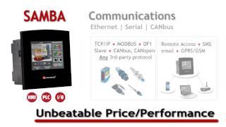 Unitronics Samba Programmable Logic Controller with HMI