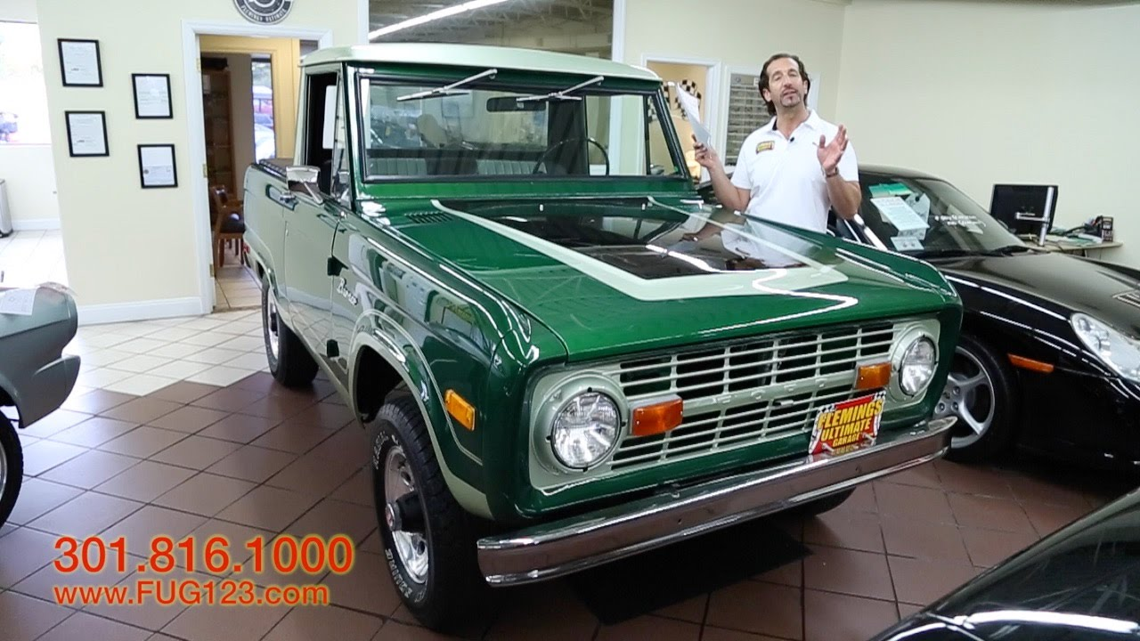 1971 Ford Bronco Half Cab 4X4 for sale with test drive, driving ...