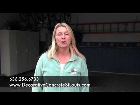 Garage floor cleaning tips by decorative concrete for Garage floor cleaning tips