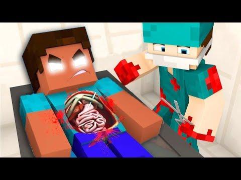 HEROBRİNE'I AMELİYAT ETTİM! (Minecraft)