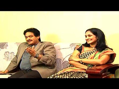 Dr. Ghazal Srinivas says about His Wife Smt. Surekha Ghazal
