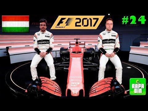 F1 2017 GP HUNGRIA CARREIRA #24 QUE CORRIDA FOI ESSA!!