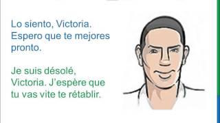 Diálogo 2 Espagnol Francés - Cómo estás? - Comment vas-tu? Comment ça va?