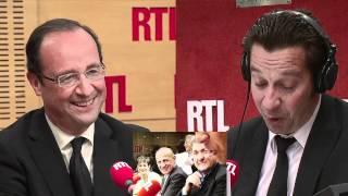 Laurent Gerra a imité François Hollande... devant François Hollande vendredi 4 mai 2012 - RTL - RTL