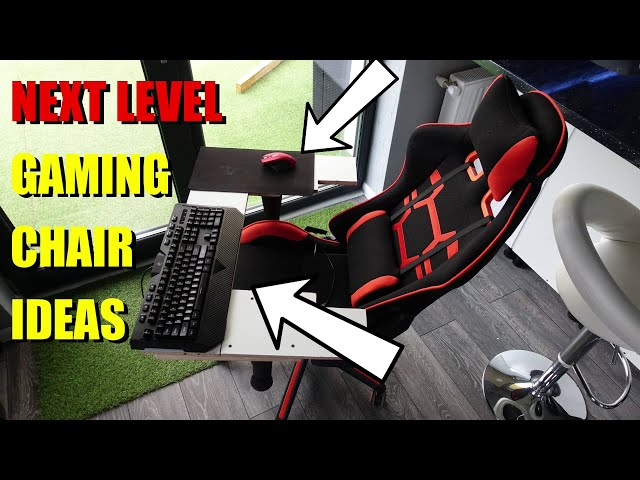 😏 BEST Gaming Chairs Ideas, Next LEVEL, No more Back pain , Mouse and Keyboard, Best Gaming TRAY DIY
