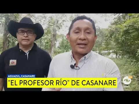 EL PROFESOR RÍO, UNA ESPERANZA DE VIDA PARA EL PLANETA...IDEAS QUE TRANSFORMAN