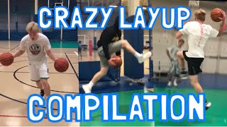 CRAZY LAYUPS COMPILATION!!