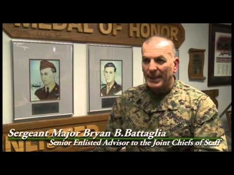 Highest ranking enlisted member of the US military visits Barksdale