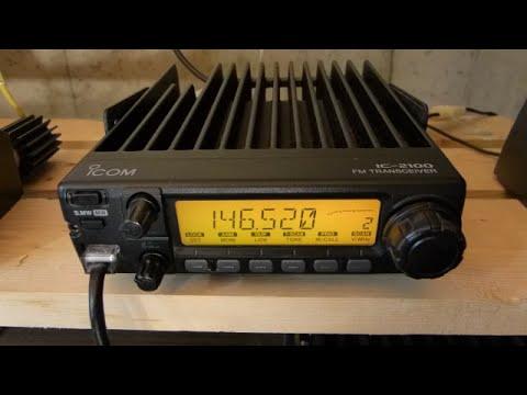 Icom IC-2100h Crackling Audio Repair