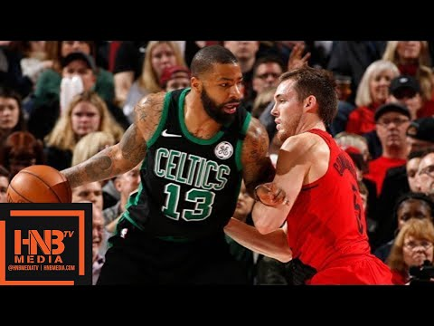 Boston Celtics vs Portland Trail Blazers Full Game Highlights / March 23 / 2017-18 NBA Season