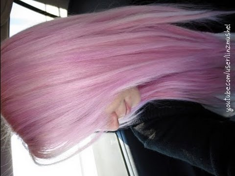 Dying My Hair Pastel Pink YouTube