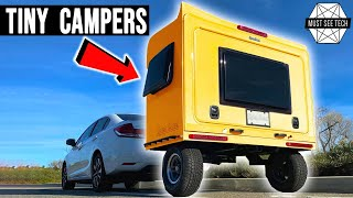 Top 10 Tiny Campers with Amazing Functionality (Interiors and Amenities in Details)