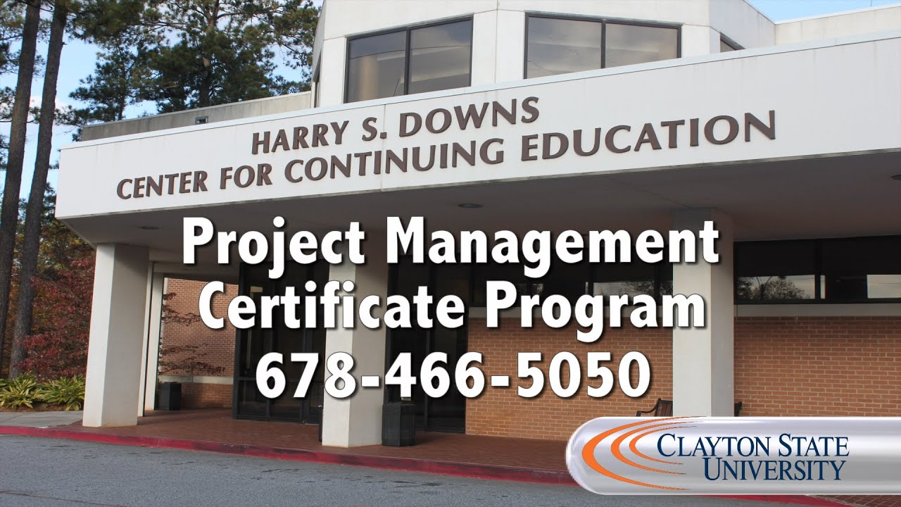 Clayton state university continuing education project management clayton state university continuing education project management certificate program welcome xflitez Choice Image