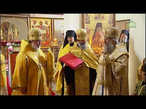 Митрополит Екатеринбургский и Верхотурский Кирилл совершил всенощное бдение в монастыре Алапаевска