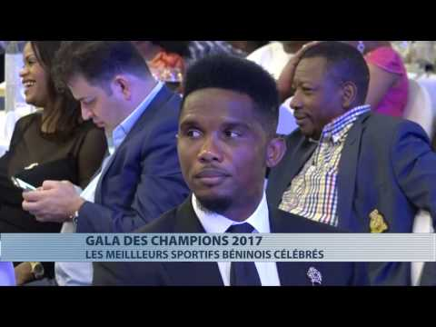 Sports : Samuel Eto'o au Gala des champions du Bénin