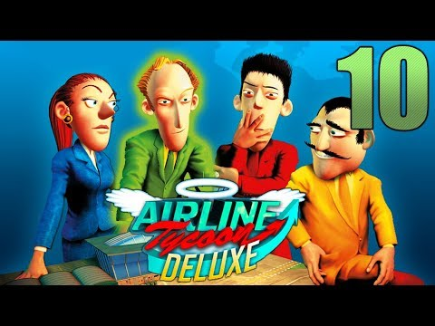 Airline Tycoon || Free Game #10  (Falcon Lines)