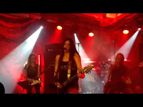 Crucified Barbara - I Sell My Kids For Rock 'N' Roll (Live At Acusticum, Piteå 31.10.2014)