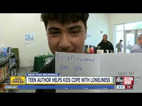 Pinellas Park teen channels her loneliness into a published fantasy novel