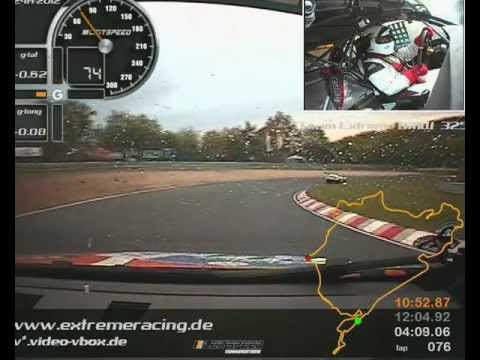Nurburgring 24 hour 2012 onboard BMW 325i Angus Chapel