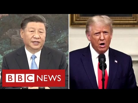 """China has """"no intention of a Cold War"""" as tension with Washington deepens - BBC News"""