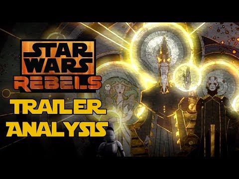 Star Wars Rebels Mid-Season 4 Trailer Breakdown and Analysis