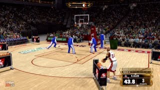 NBA 2k13 Three Point Contest : Ray Allen Faces off Dirk Nowitzki