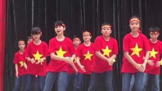 Dân vũ Việt Nam Ơi - Lớp 6A10 - Giảng Võ - Khai mạc Hội khỏe phù đổng