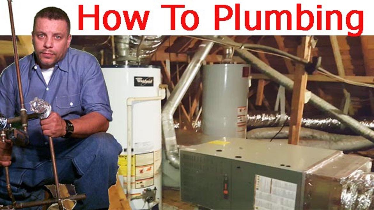 Water Heater In Attic Youtube