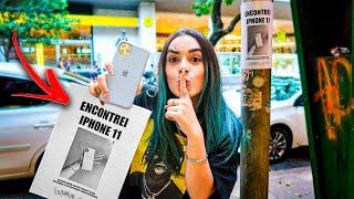 FINGI ENCONTRAR IPHONE 11 PRA VER QUANTOS MENTIROSOS LIGAM!!