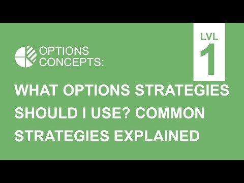 What Options Strategies Should I Use? - Common Strategies Explained