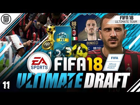 HE'S THE BEST!!! FIFA 18 ULTIMATE DRAFT! ROAD TO GLORY! #11 - FIFA 18 Ultimate Team