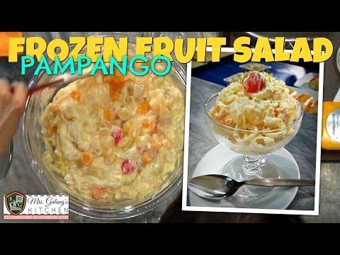 PAMPANGO FROZEN FRUIT SALAD (Mrs.Galang's Kitchen S6 Ep10)
