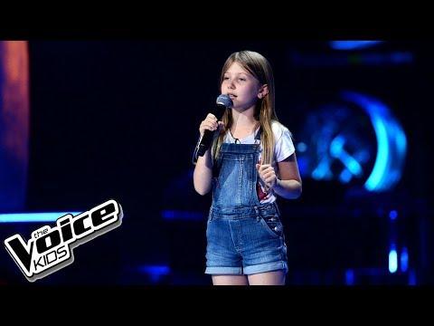 """Natasza Kotlarska – """"Pół kroku stąd"""" – Przesłuchania w ciemno – The Voice Kids Poland"""
